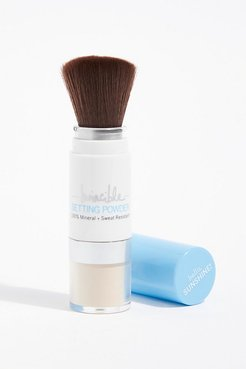 Supergoop! Invincible Setting Powder SPF 45 by Supergoop! at Free People, Translucent, One Size