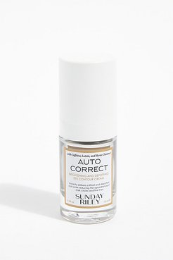 Auto Correct Brightening and Depuffing Eye Cream by Sunday Riley at Free People, Depuffing Eye Cream, One Size