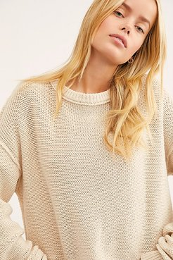 Inside Out Pullover by Free People, Natural, XS