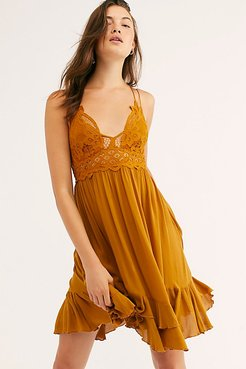 Adella Slip by FP One at Free People, Mustard, XS