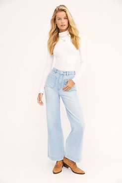 Sailor Jeans by Rolla's at Free People, Tash Blue, 27