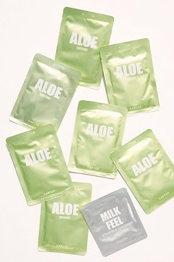 Daily Mask Set (7+1) by Lapcos at Free People, Aloe, One Size