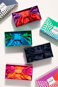 Hair Wrap by SILKE London at Free People, Peacock Blue & Emerald Green, One Size