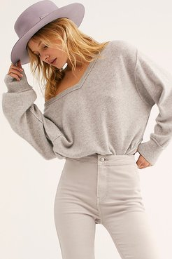 Love Like This Cashmere Pullover by Free People, Sterling, L