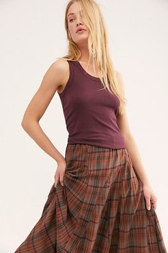 U-neck Tank by Intimately at Free People, Violet Night, S