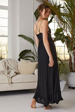 Adella Maxi Slip by FP One at Free People, Black, L