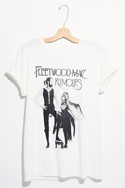 Fleetwood Mac Dancing Tee by Live Nation at Free People, White, XS