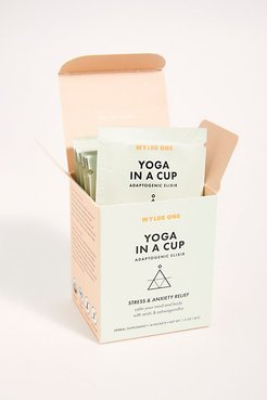 Yoga In A Cup by WYLDE ONE at Free People, One, One Size