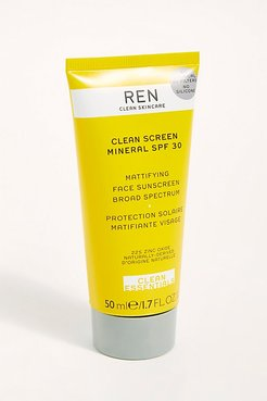 Clean Screen SPF 30 by REN Skincare at Free People, One, One Size