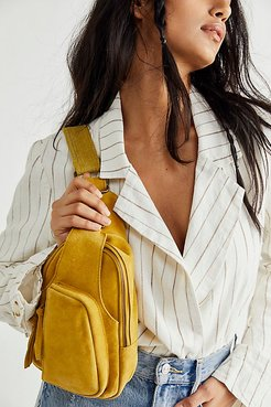 Hudson Sling Bag by FP Collection at Free People, Spicy Mustard, One Size