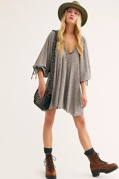 Winter Sun Tunic by We The Free at Free People, Heather Grey, XS