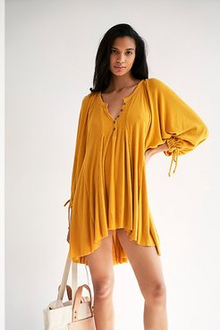 Winter Sun Tunic by We The Free at Free People, Sueded Tan, XS