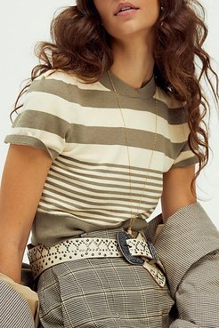Piper Studded Waist Belt by FP Collection at Free People, Studded White, One Size