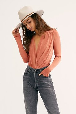 Turnt Bodysuit by Free People, Ginger Spice, L