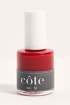 10-Free Nail Polish by Côte at Free People, Classic Red, One Size