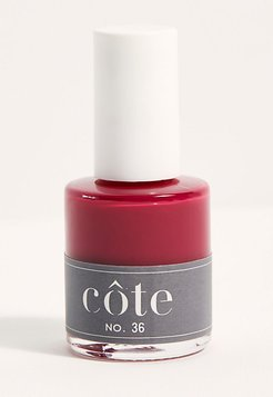 10-Free Nail Polish by Côte at Free People, Warm Rich Berry, One Size