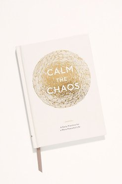 Calm The Chaos Journal by Chronicle Books at Free People, One, One Size