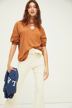 Be Free Stripe Tunic by We The Free at Free People, Autumn Wildflower, S