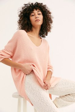 C.O.M.F.Y. Pullover by Intimately at Free People, Peachy Pink, M/L