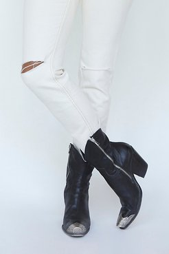 Brayden Western Boots by FP Collection at Free People, Black, EU 37