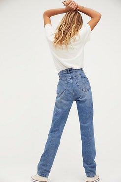 Elle Jeans by Rolla's at Free People, Paris Blue, 24