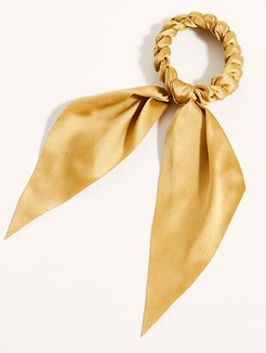 Ballet Hair Tie by Free People, Champagne Gold, One Size