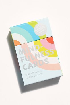 Mindfulness Cards by Chronicle Books at Free People, One, One Size