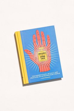 Recipes For Good Luck by Chronicle Books at Free People, one, One Size