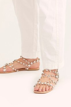 Chandelier Sandals by Jeffrey Campbell at Free People, Clear, US 6