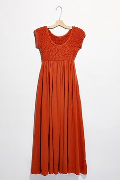 All Eyes On You Midi Dress by Endless Summer at Free People, Tangelo Summer, XS