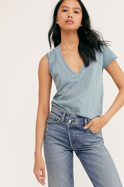 Sun Valley Tee by We The Free at Free People, Ceramic Seafoam, XS