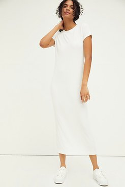 Simone Tee Dress by FP Beach at Free People, Off White, XS