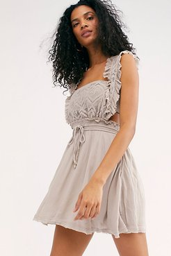 Fuego Mini Dress by Endless Summer at Free People, Storm Grey, L