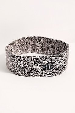 Glam Band by Slip at Free People, Leopard, One Size