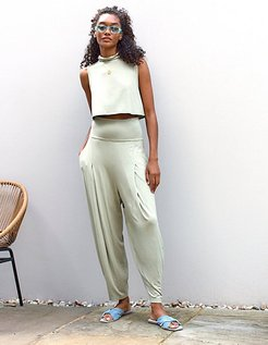 Wander Set by FP Beach at Free People, Sage Light, L