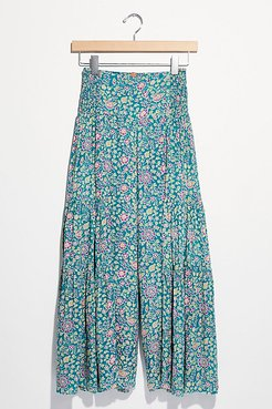 Lelani Culotte Pants by FP One at Free People, Teal Combo, M
