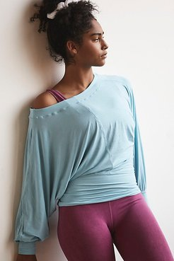 Featherweight Long-Sleeve by FP Movement at Free People, Ice Bath, XS