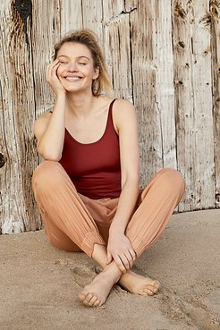 Got Sculpt Bodysuit by FP Movement at Free People, Spice Mahogany, XS
