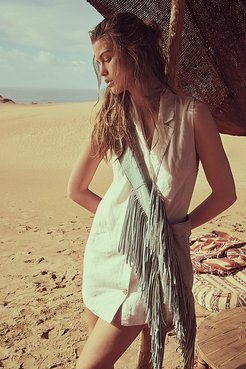 The Nue Mini Dress by Endless Summer at Free People, Ivory, XS