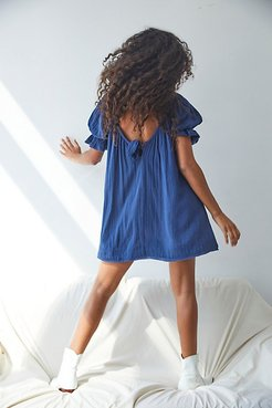 Charlie Mini Dress by Endless Summer at Free People, Indigo, S