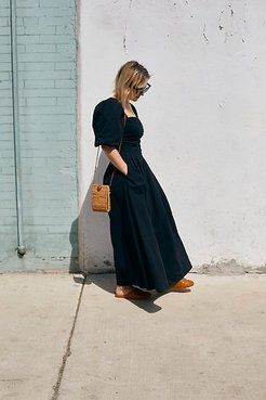 Ain't She A Beaut Midi Dress by Endless Summer at Free People, Black, XS