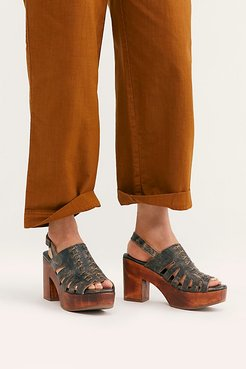 Tessa Clogs by Bed Stu at Free People, Black Lux, US 7.5
