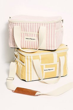 Business & Pleasure Premium Beach Cooler by Business & Pleasure Co. at Free People, Lauren's Pink Stripe, One Size