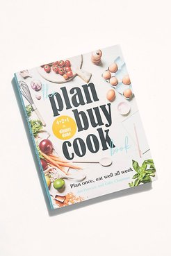 The Plan Buy Cook Book by Chronicle Books at Free People, one, One Size