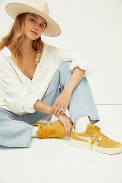 Grandslam Pearl Sneakers by Gola at Free People, 70s Panel Cinque, US 8