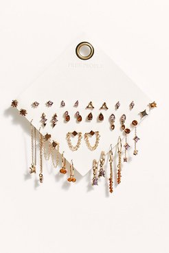 Set For Life Stud Earring Set by Free People, Amber, One Size