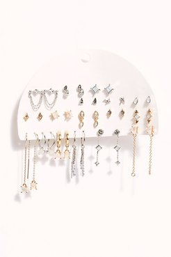Set For Life Stud Earring Set by Free People, Mixed Opal, One Size