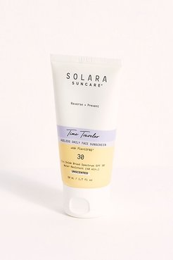 Time Traveler Ageless Daily Face Sunscreen by Solara Suncare at Free People, One, One Size