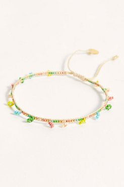 Tiny Daisy Anklet by Mishky at Free People, Multi, One Size