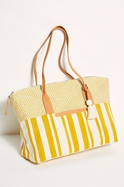 Sunflower Weekender by Mercado Global at Free People, Sunflower, One Size